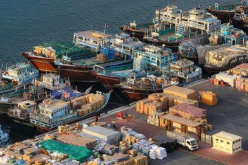 واردات كالا از دبی با لنج