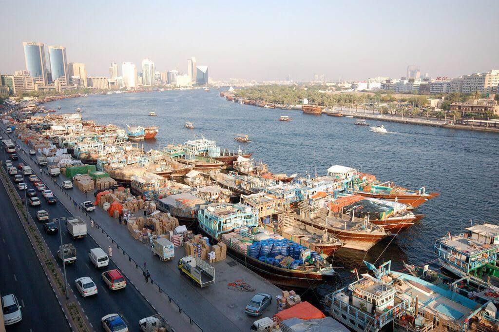 حمل بار از دبی با لنج | حمل بار ته لنجی | حمل کالا از دبی | واردات کالا از دبی با لنج